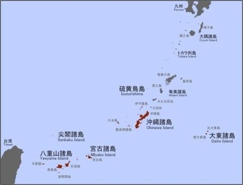 日本列島 地図