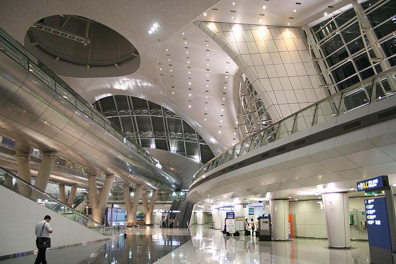 仁川国際空港交通センター画像