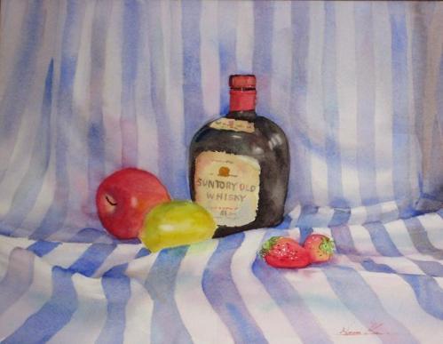 りんごとウイスキー