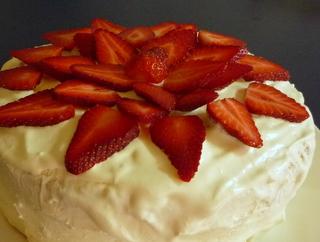サリへのケーキ