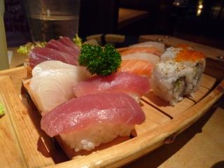お寿司舟盛り