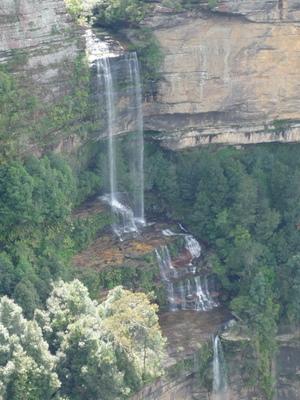滝もきれい