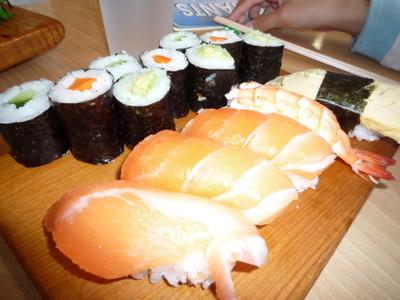 お寿司子ども
