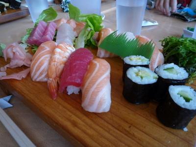寿司刺身盛り合わせ