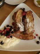 kaorisベリーとマスカルポーネのフレンチトースト