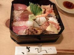 @11-06「和さび」のちらし寿司