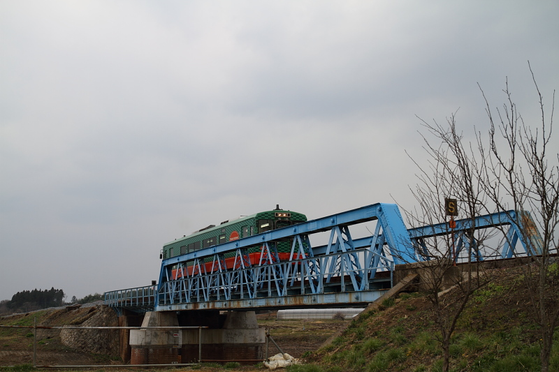 真岡鐵道のポニートラス