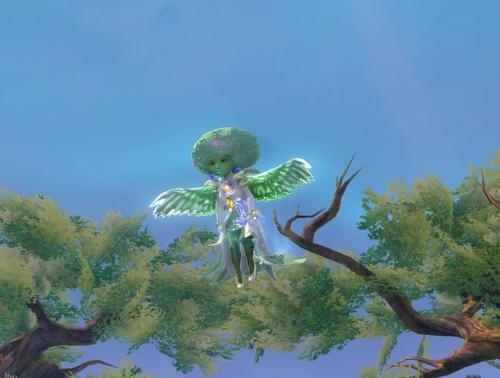 メロンの妖精、緑の羽を手に入れる