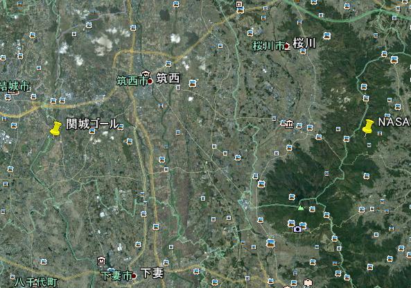 関城ゴール