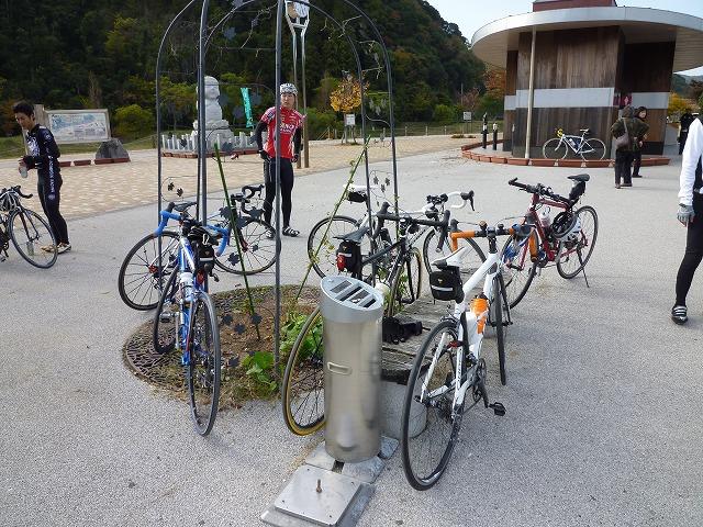 美東道の駅バイク
