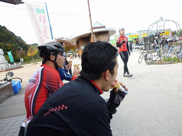 美東道の駅アイス