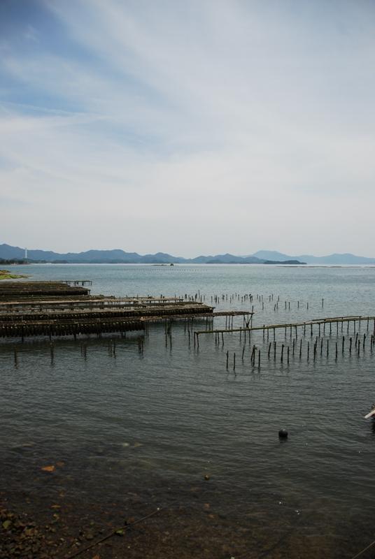 安芸津の海