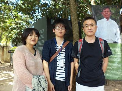 香港在住の小泉さん一家