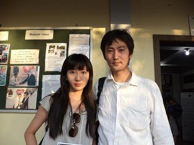 東京の赤石さん御夫妻