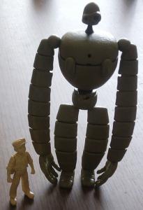 ロボット兵-仮組み完了1