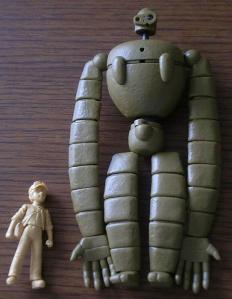 ロボット兵-仮組み完了2