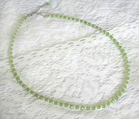 ペリドットのペンダント用ネックレス1