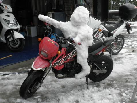 KSR雪だるま