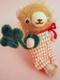風太くん(フウタ) ~うす茶でピンク耳のクマ☆はしゃぎまくり