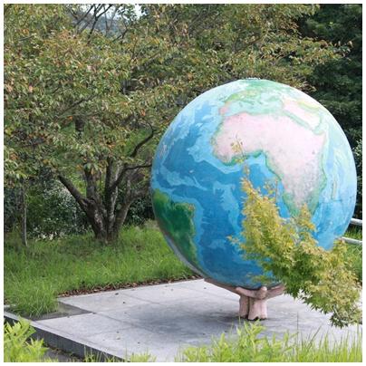 しょっぼい地球儀