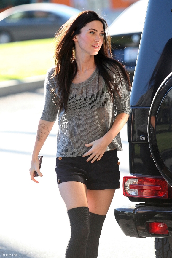 Megan Fox at L'Ermitage Hotel in Beverly Hills