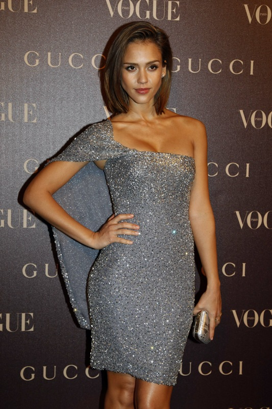 Jessica Alba at Gucci Dinner at Italian Embassy