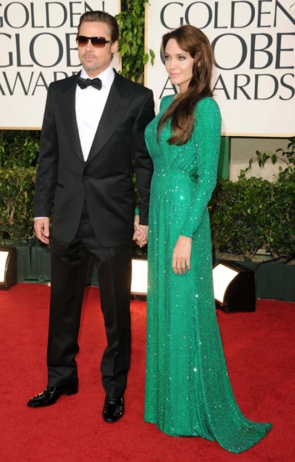 Angelina Jolie at The 68th Annual Golden Globe Awards