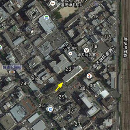 東領団地 グーグルマップ