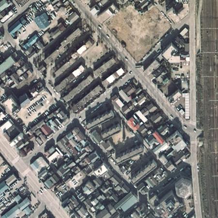 東領団地 航空写真02
