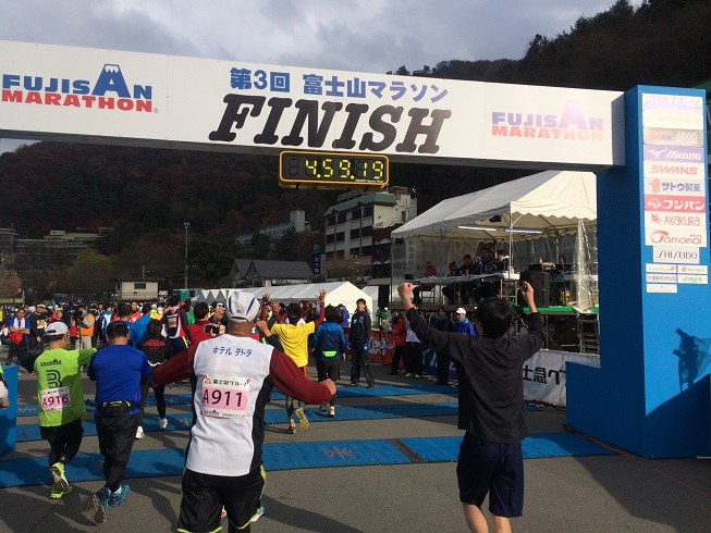 fujisan marathon goal