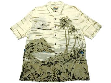 【ISLAND FEVER】アロハシャツ(0334)