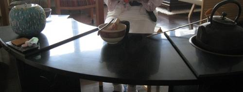 お手前テーブル