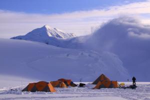 Denali 11000ftキャンプ