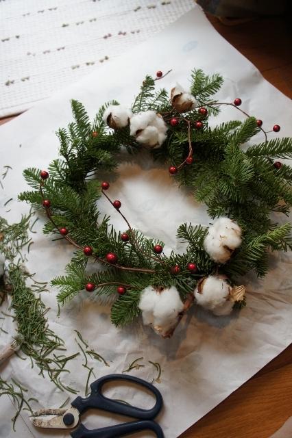 クリスマスリース2014 完成