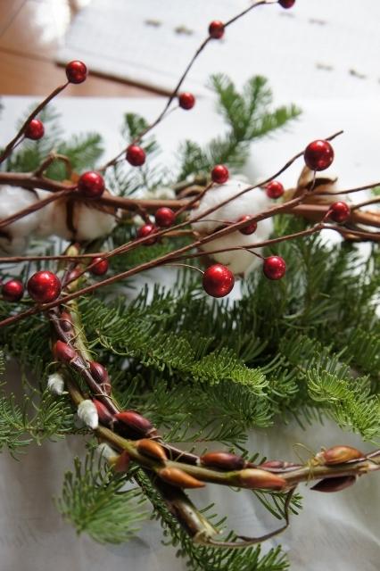 クリスマスリース2014 材料