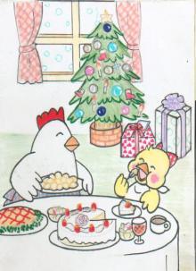 ぴよちゃんのクリスマスラフ