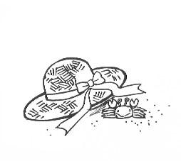 麦藁帽子 小