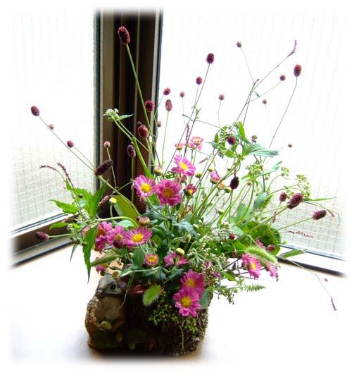 花のぬりえ1元画像