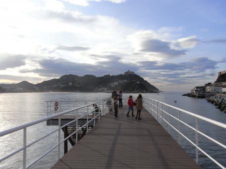 サンセバスチャン桟橋