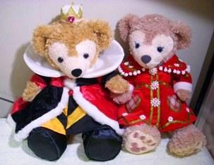 ダッフィー メイ ハートの女王 クリスマスコート