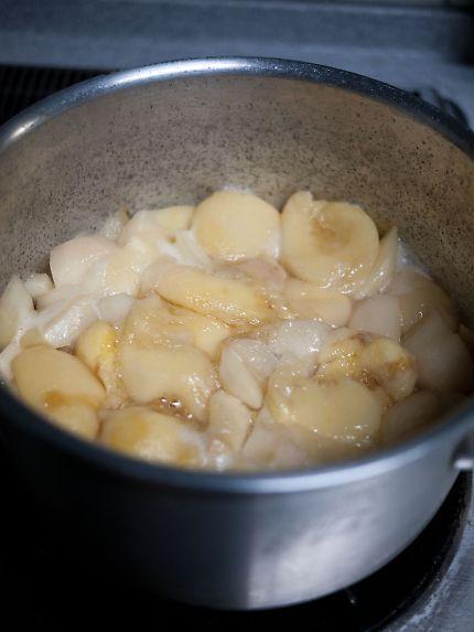 長田の桃 煮桃