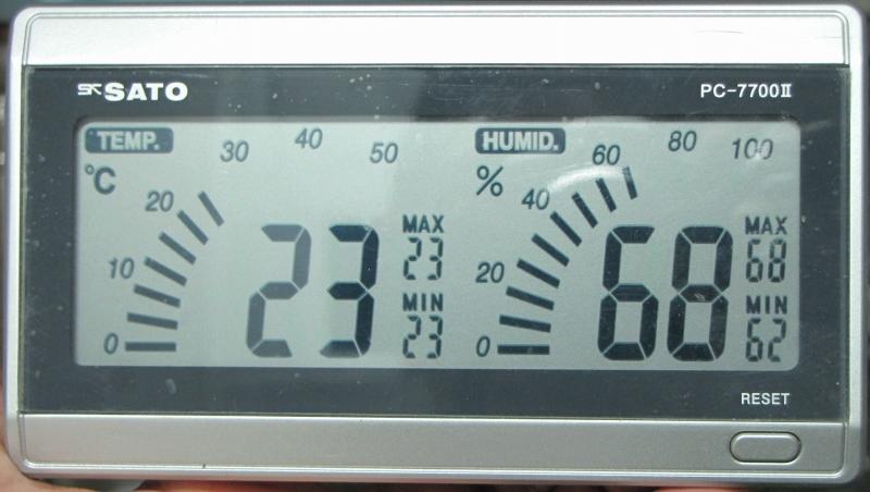 時計温度計湿度計As-
