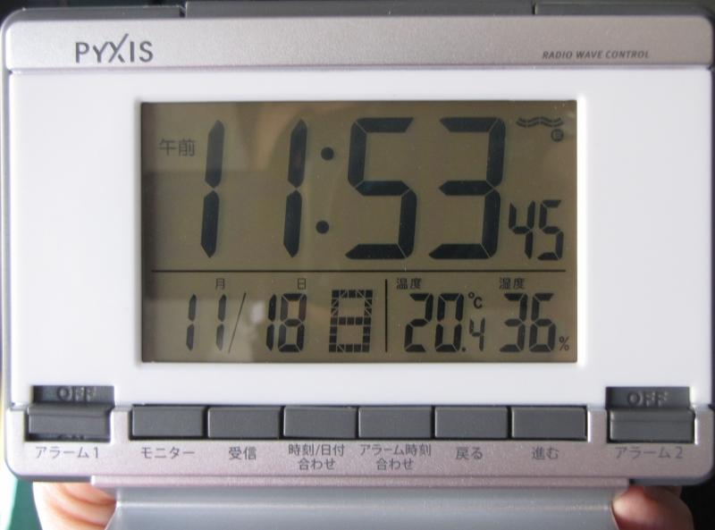 時計温度計湿度計Cs-