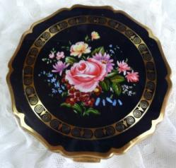 紺・ピンクの薔薇-1