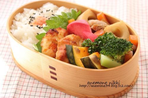 栗原はるみさんの豚肉とれんこんの炒め煮弁当3