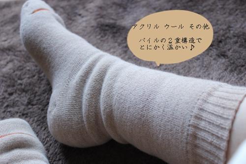 とにかくあったかい靴下6