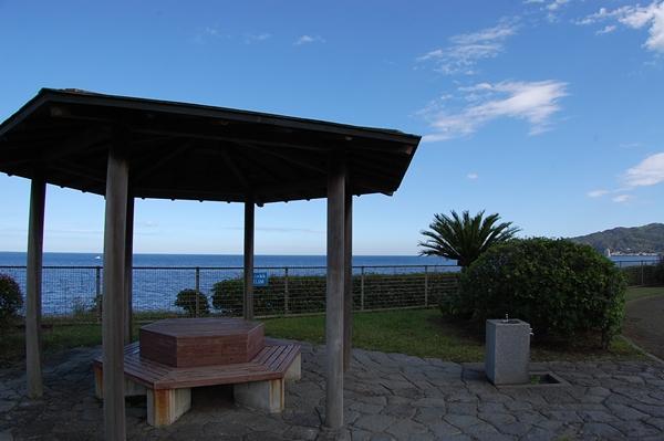 海が見える公園