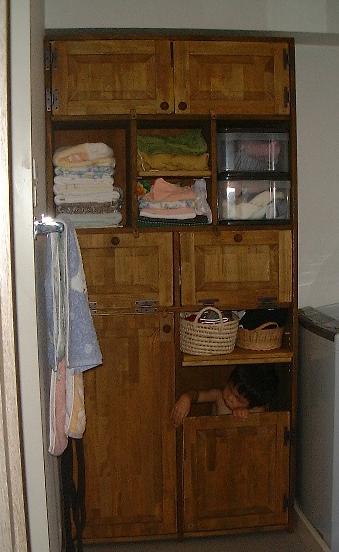 お風呂場棚