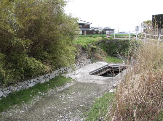 琴平町苗田周辺の出水