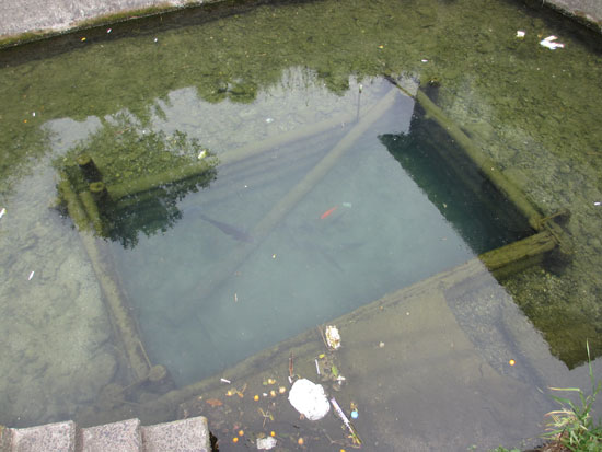 琴平町榎井周辺の出水